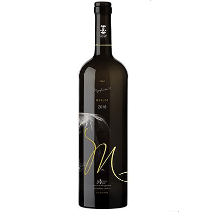 Bottiglia di vino personalizzata   Magnificients Nicolas Würst