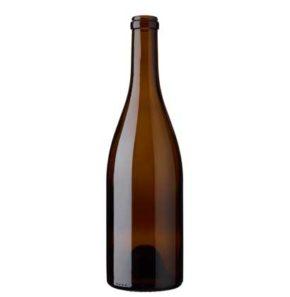 Burgundy wine bottle cetie 75 cl oak Sommelière