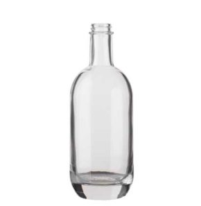 Gin bottle GPI 50 cl white Moonea