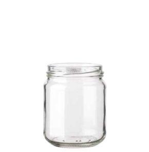 Jar 228 ml white TO63