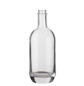 Whisky bottle GPI 50 cl white Moonea