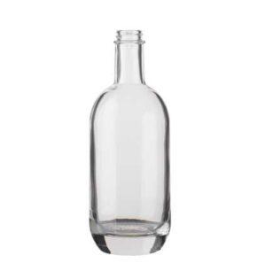 Gin bottle GPI 50 cl white Moonea