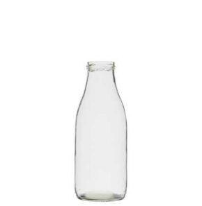 Milk bottle 100 cl white TO54