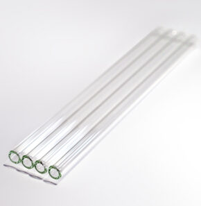 Glass straws 200mm