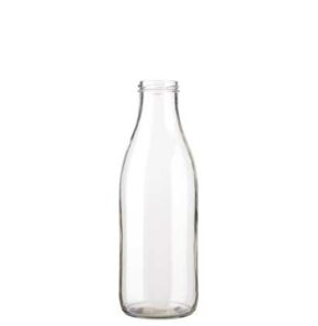 Milk bottle 100 cl white TO48 Fraîcheur