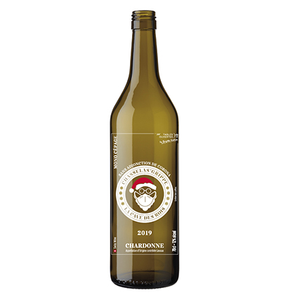 Personalised wine bottle with digital printing | Cave des Rois