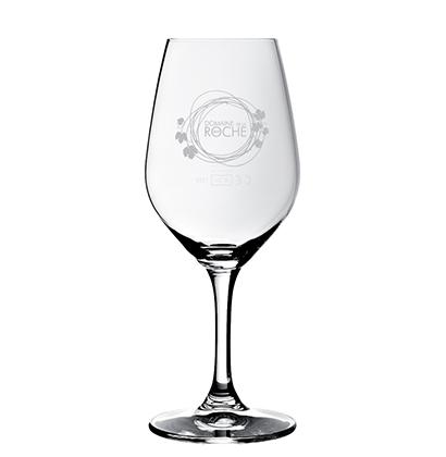 Personalised wine glass | Domaine de la Roche