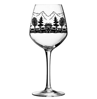 Personalised wine glass | Schmidt Catherine