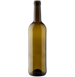 Bottiglia di vino Bordolese cetie 75cl quercia Nova