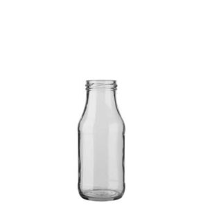 Juice bottle 263 ml white TO43