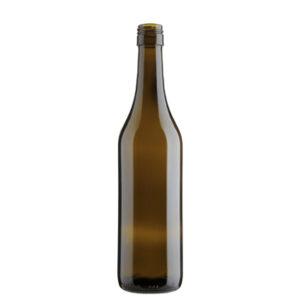 Weinflasche Waadtländer BVS 30H60 50cl antik