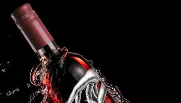 bottiglia di vino 30h60