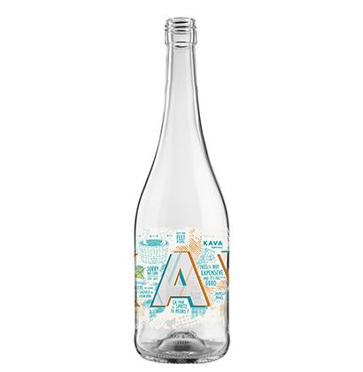 Personalised wine bottle with digital printing | Cave Ardévaz