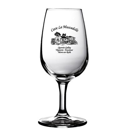 Bicchiere di vino personalizzato | Cave la Muscadelle