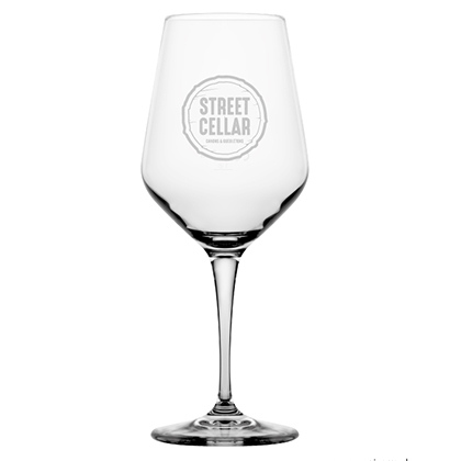 Personalisiertes Weinglas | Street Cellar