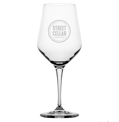 Bicchiere di vino personalizzato | Street Cellar