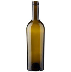Bordeaux wine bottle cetie 75cl oak Conique Clara