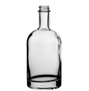 Bottiglia per gin GPI 33-400 pesante 70cl bianco Oblò