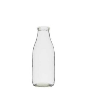 Milk bottle 100 cl white TO54