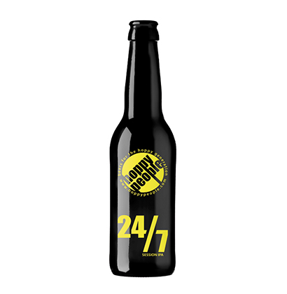 Personalisierte Bierflasche   Hoppy People SA