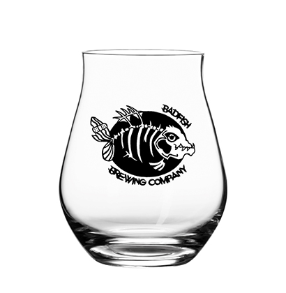 Personalisiertes Bierglas   BadFish Brewing Company SA