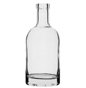 Bottiglia per gin Fascetta 35cl bianco Oblò