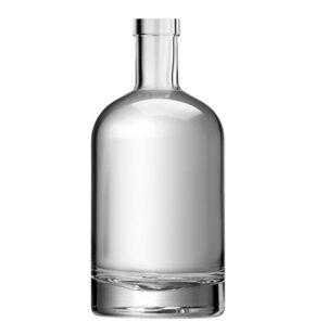 Bottiglia per gin Fascetta 50cl bianco Oblò