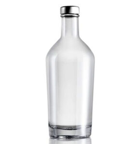 Bottiglia per liquori fascetta 70cl bianca London
