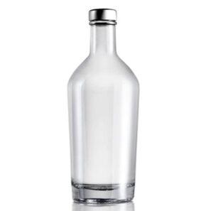 Bottiglia per Vodka fascetta 70cl bianca London