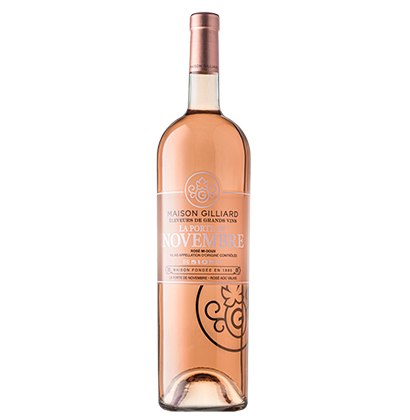 Personalised rose magnum bottle | Maison Gilliard