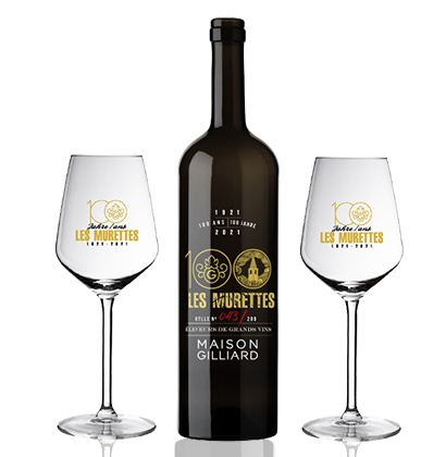 Die personalisierte Weinflasche Maison Gilliard
