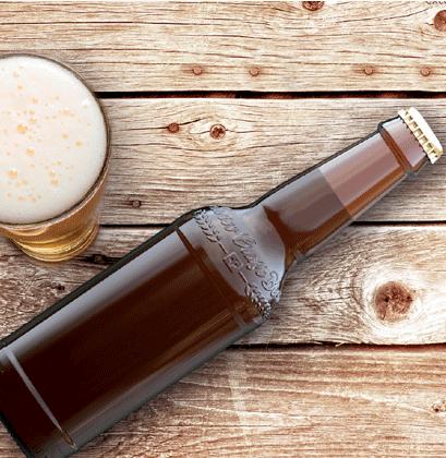Personalisierte Bierflasche Swiss-Craft-Beer-Bottle