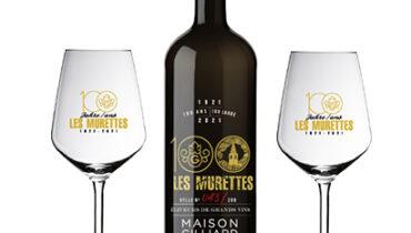 Bouteille de vin personnalisee Maison Gilliard