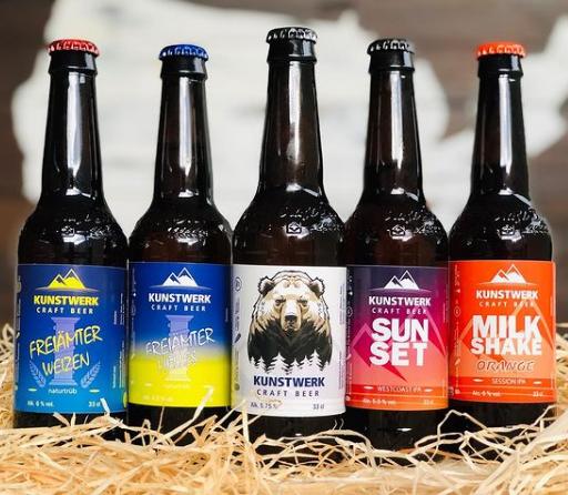 bottiglia di birra personalizzata @kunstwerk_craft_beer