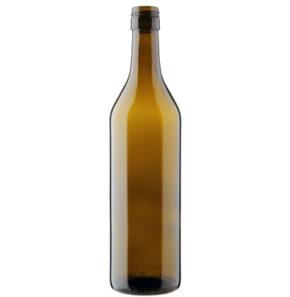 Bottiglia di vino vodese BVS 30H60 75cl quercia