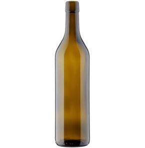 Bouteille à vin vaudoise fascetta 70cl antique 300mm