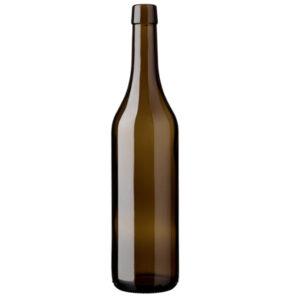 Vaud wine bottle bartop 70cl antique Ancienne