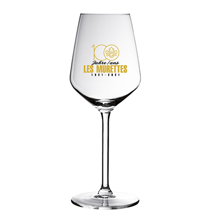 Personalised wine glass for Maison Gilliard