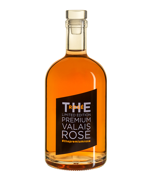 Bouteille de vin personnalisee The Premium Rose Cave Corbassiere