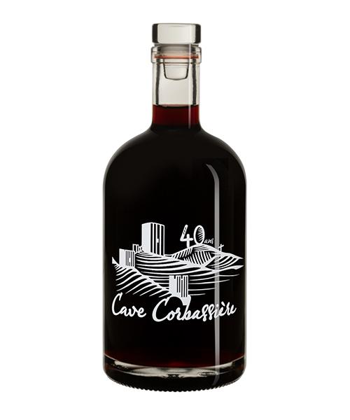 Weinflasche bedrucken Empreinte ©Cave Corbassiere