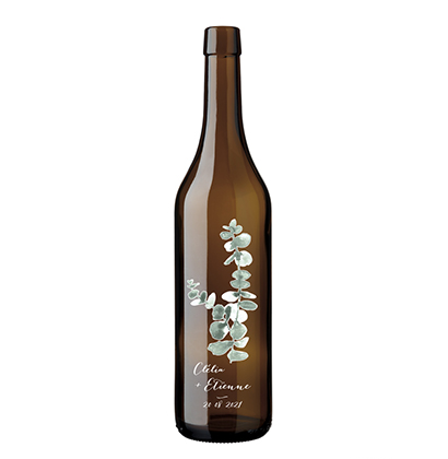 Bouteille à vin vaudoise Wüst Nicolas