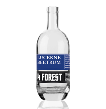 Spirituosenflasche 4 Forest Lucerne Beetrum