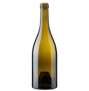 Burgundy wine bottle cetie 75cl oak Renaissance