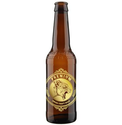 bouteille de biere personnalisee Swiss Craft Beer