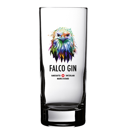 Personalisiertes Ginglas Falco Gin