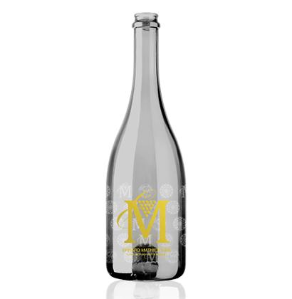 Schaumweinflasche von Erhard Mathier Vins