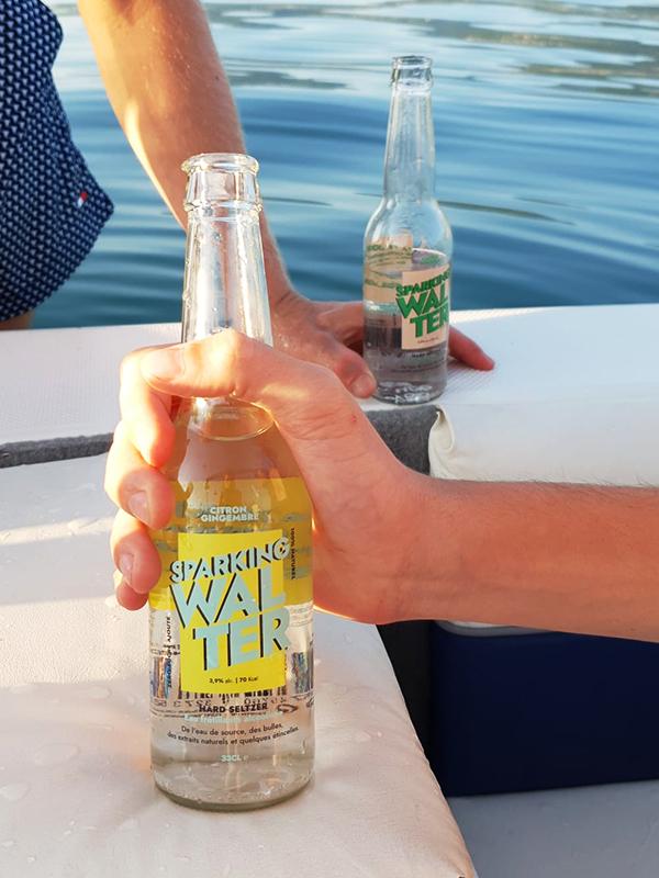 bouteille hard seltzer Sparking Walter - Kol App