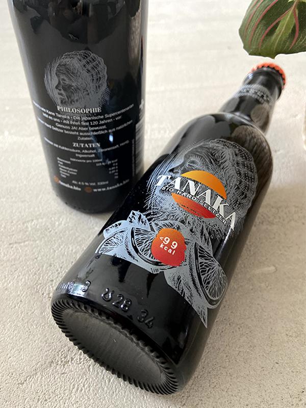 bouteille hard seltzer Tanaka