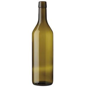 Vaud wine bottle bar top 75cl olive green Dionys