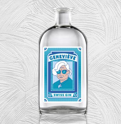 Apothekerflasche gin des mamies
